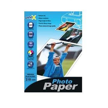 נייר פוטו גלוסי 180 גרם אופיקס